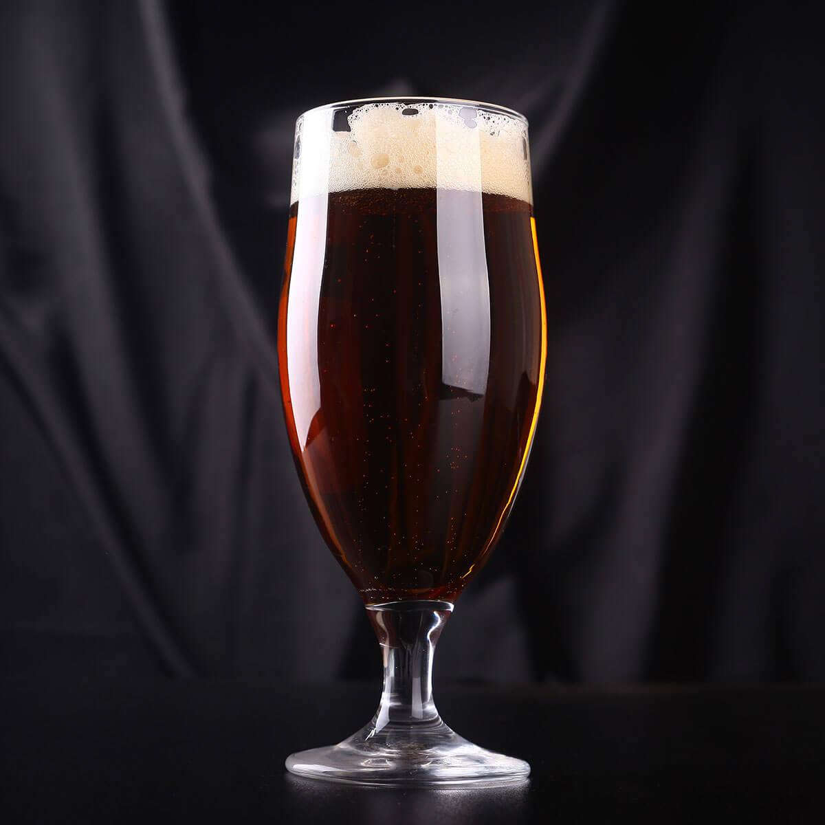 Scottish Ale in a Tulip Glass