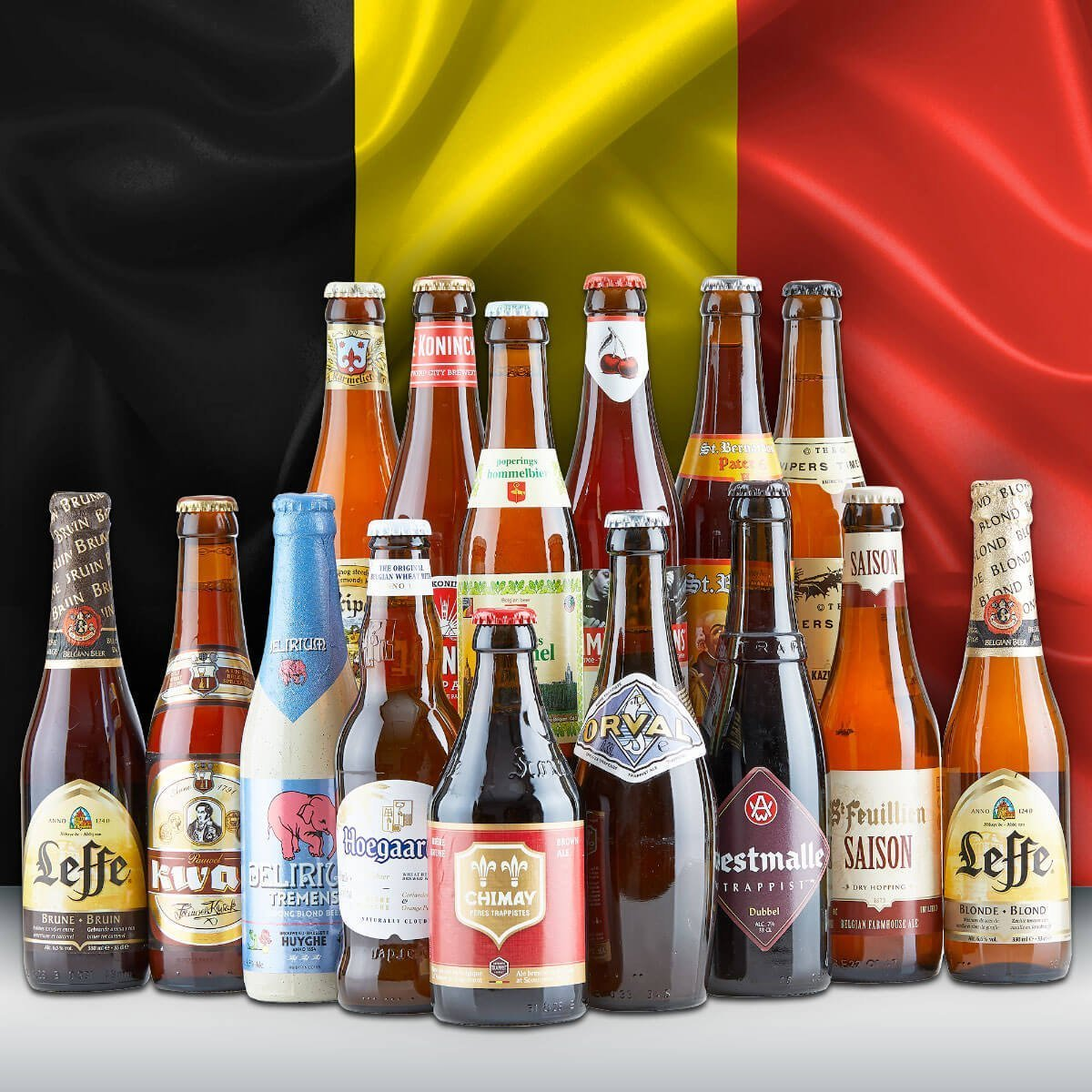 A Brief History of Belgian Beer