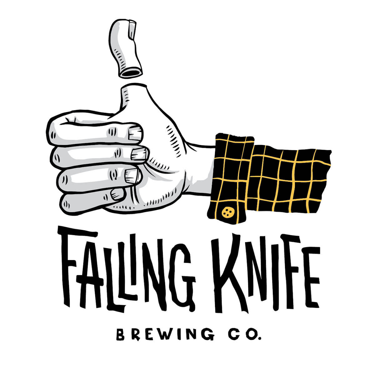 Falling Knife Brewing Company Logo
