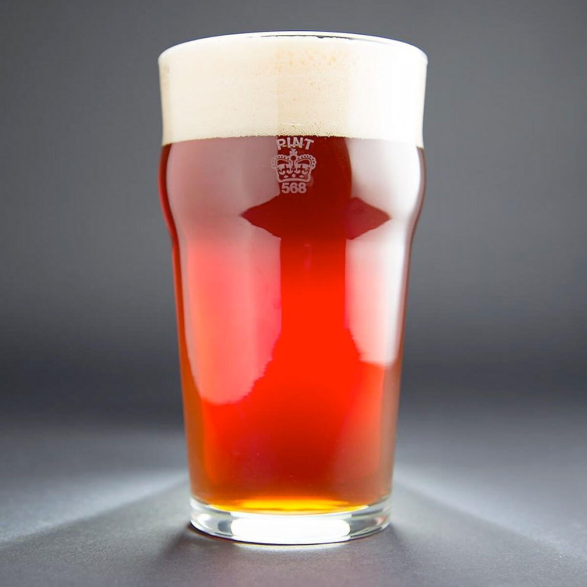 American Red Ale in Nonic Pint Glass