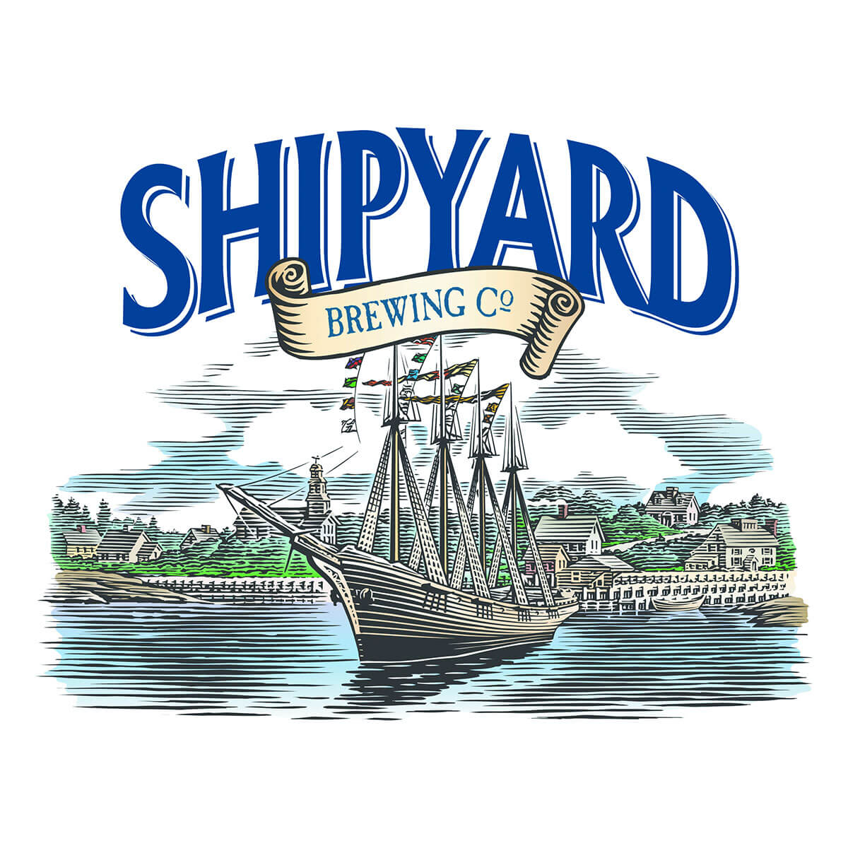Shipyard Brewing Co. Logo