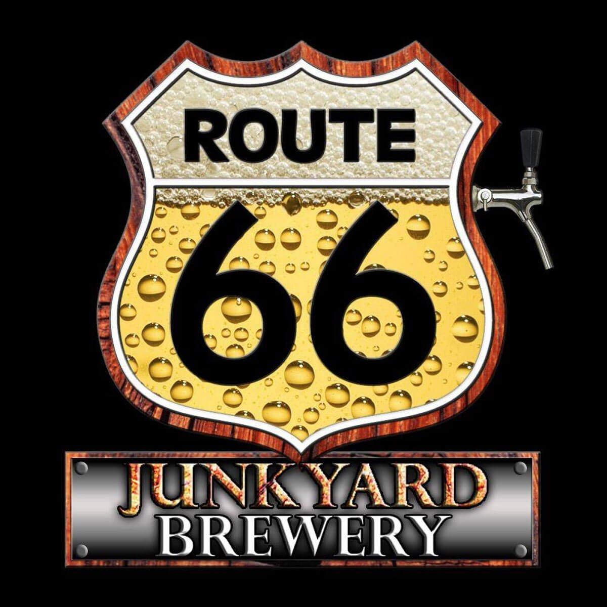 Route 66 Junkyard Brewery Logo