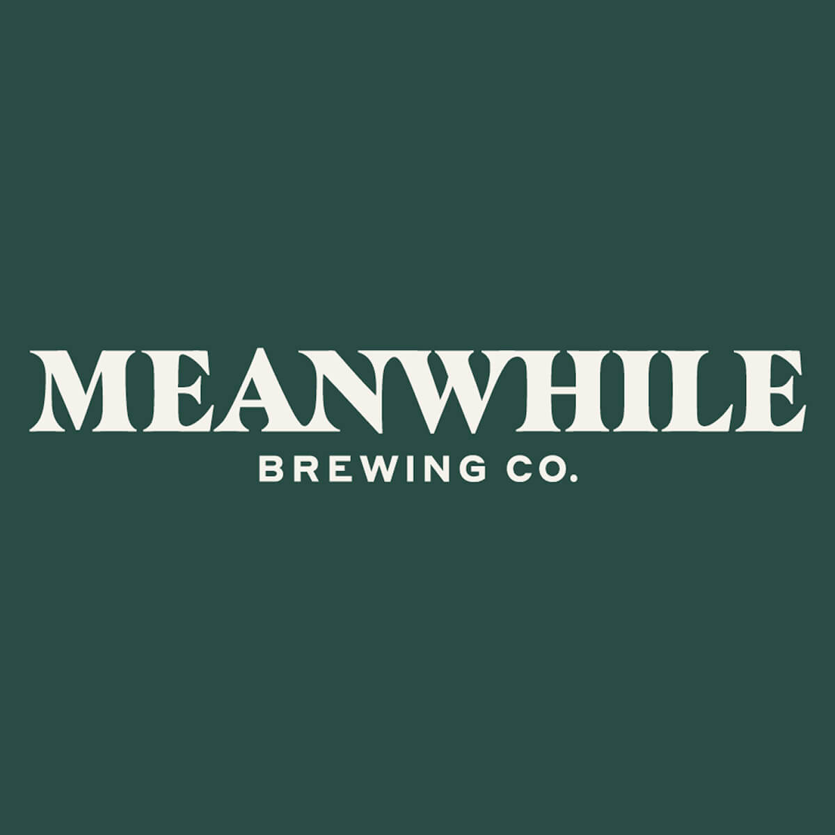 Meanwhile Brewing Company Logo