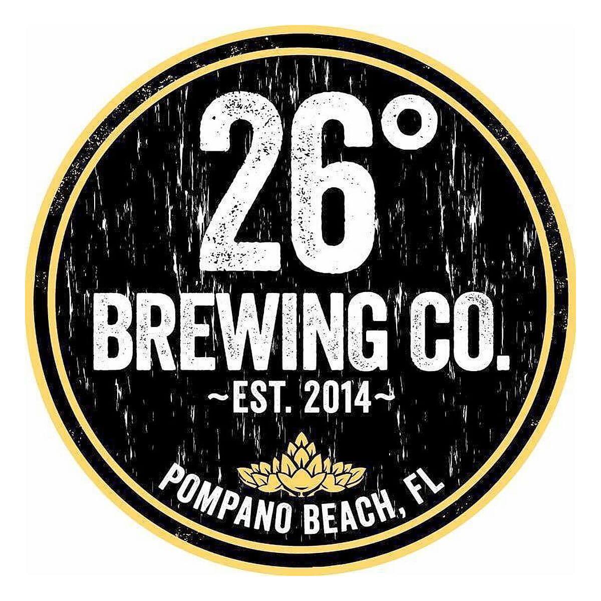 26 Degrees Brewing Co. Logo