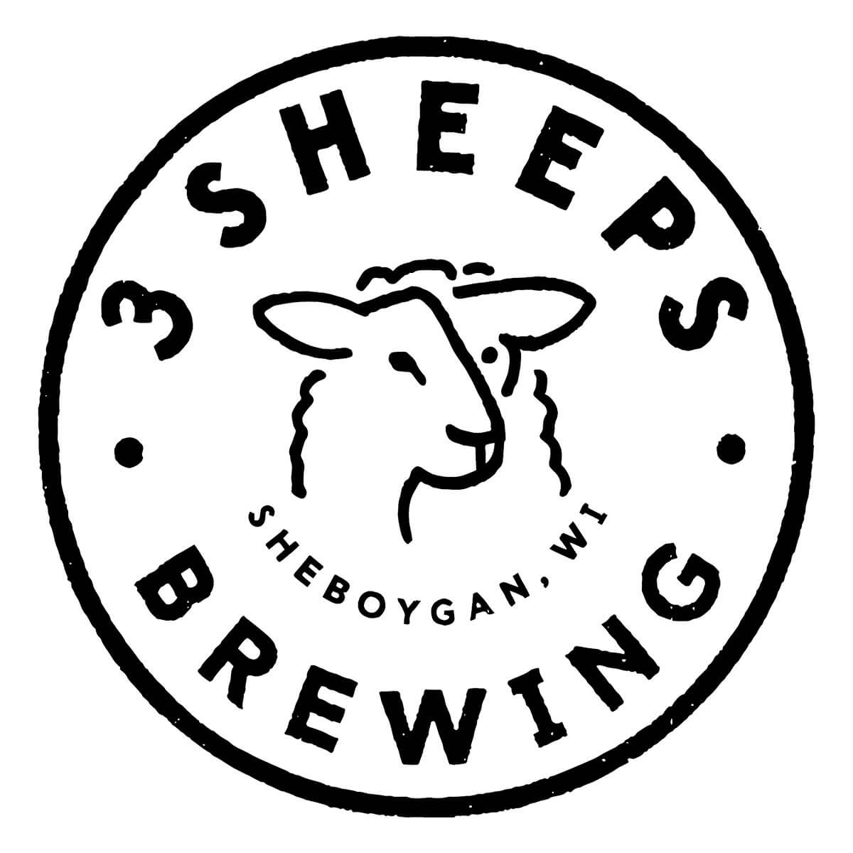 3 Sheeps Brewing Co. Logo