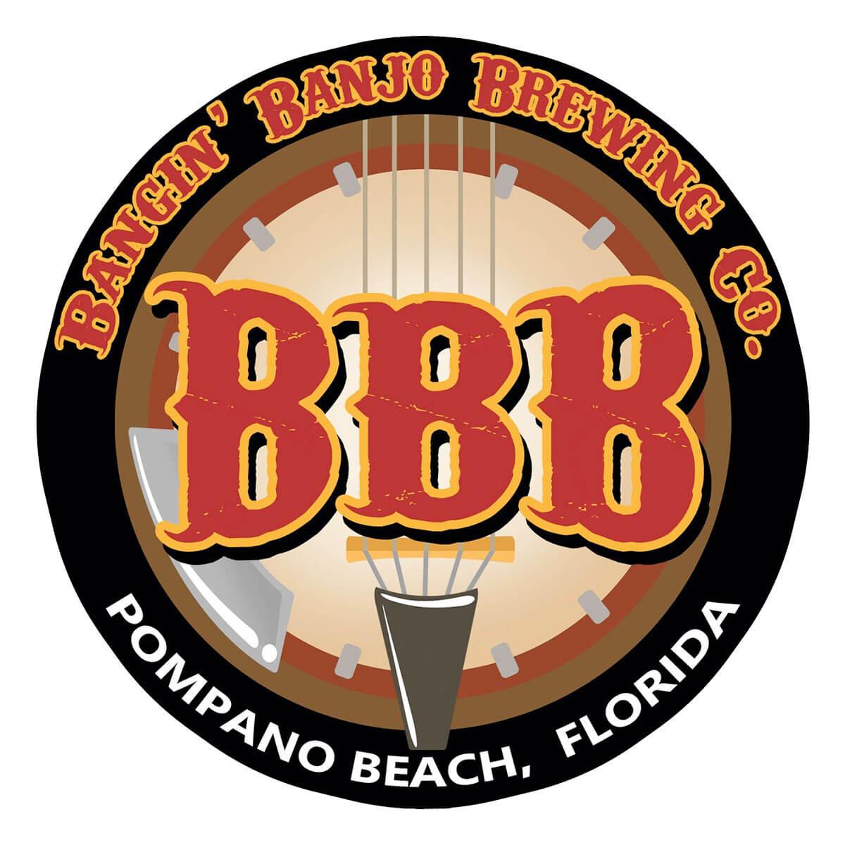 Bangin' Banjo Brewing Company Logo