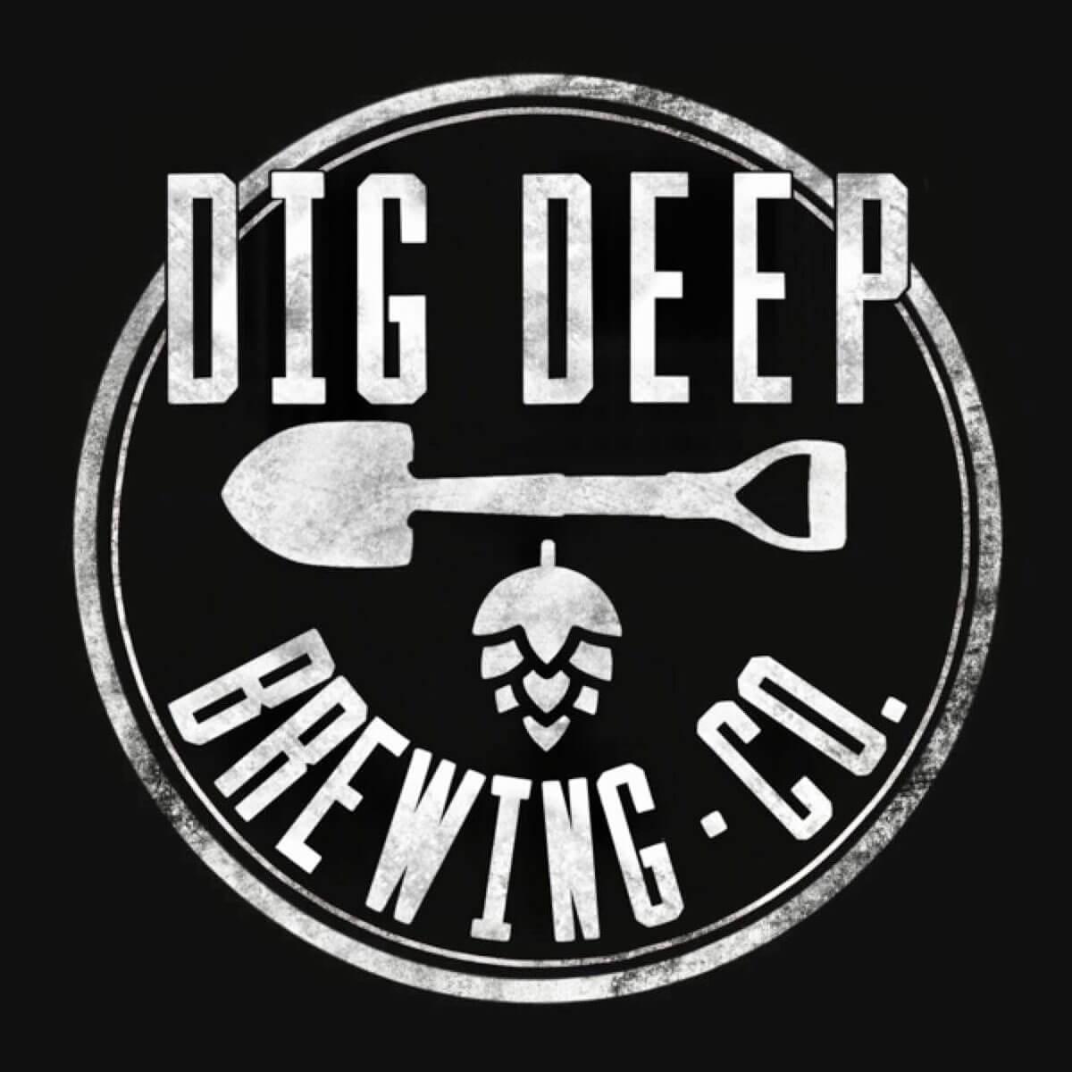 Dig Deep Brewing Co. Logo