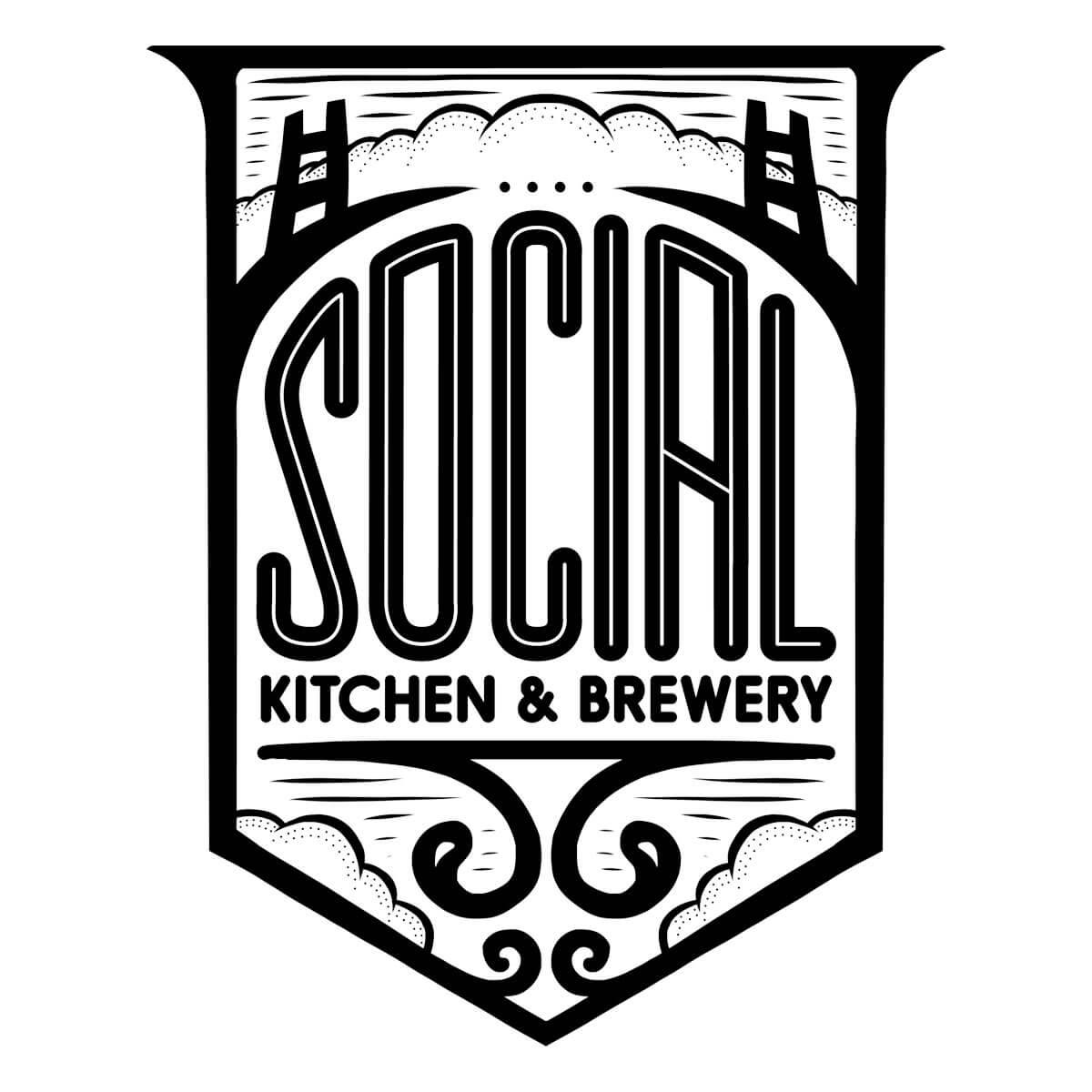 Social Kitchen & Brewery Logo