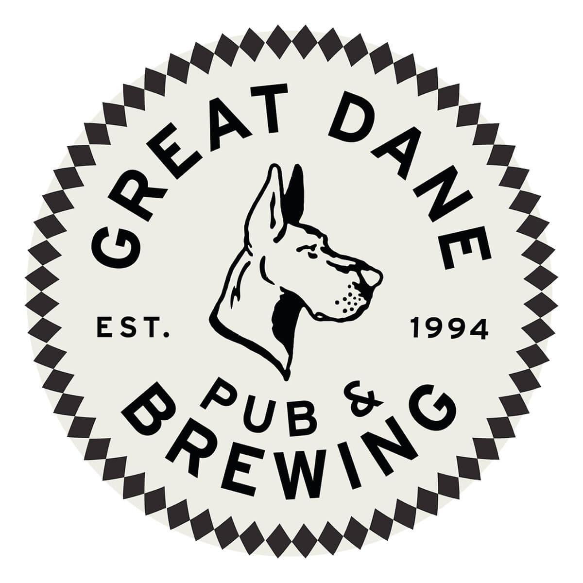 Great Dane Pub & Brewing Company Logo