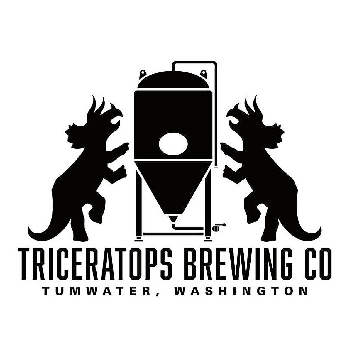 Triceratops Brewing Company Logo