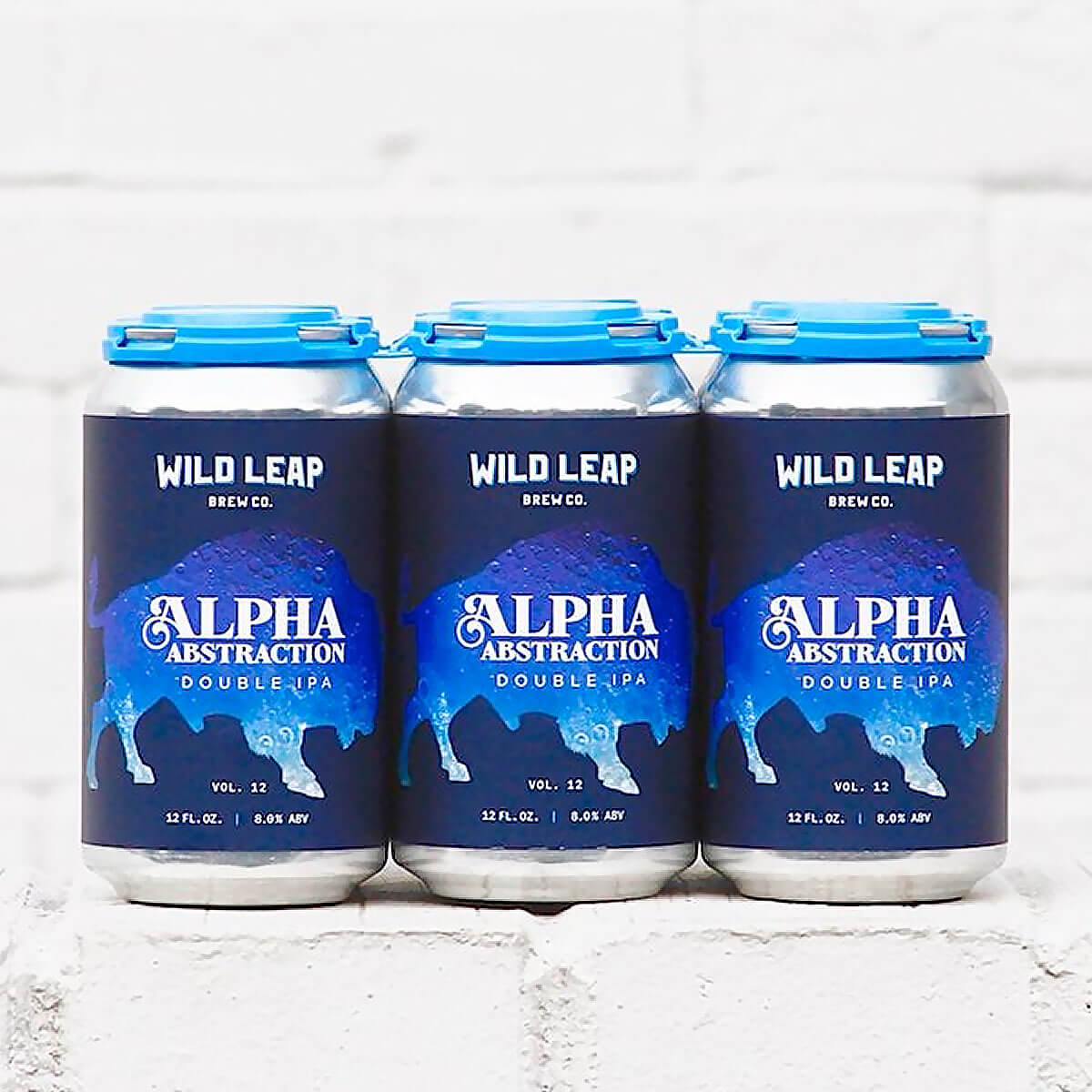Wild Leap Brew Co. releases Alpha Abstraction Vol. 12 Double IPA, the latest in the series of hoppy beers that feature citrus and fruit juice flavor.