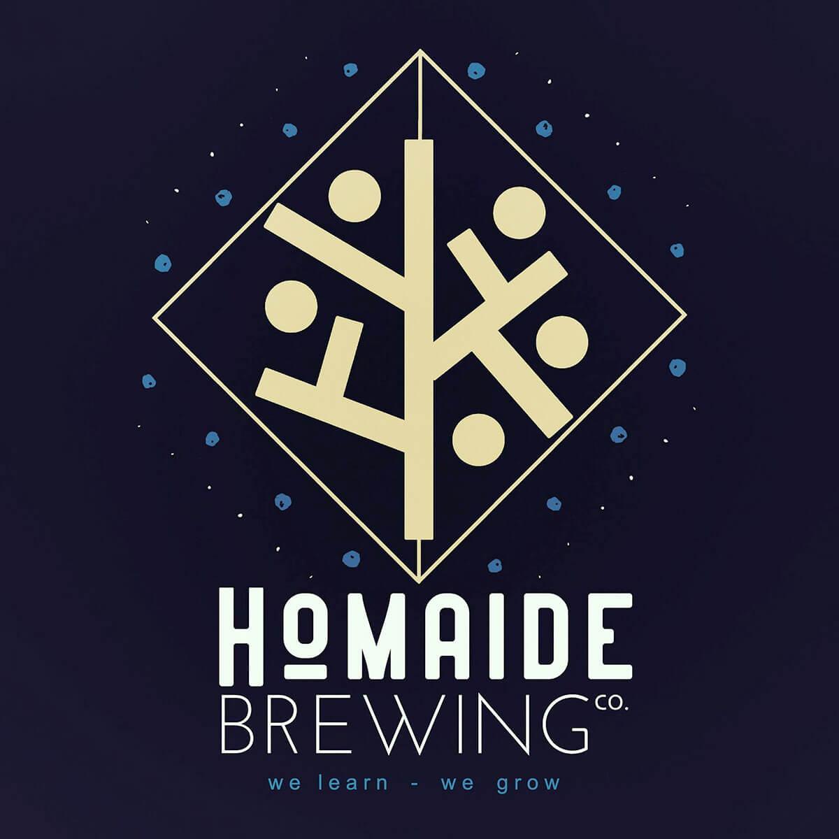 Homaide Brewing Company Logo