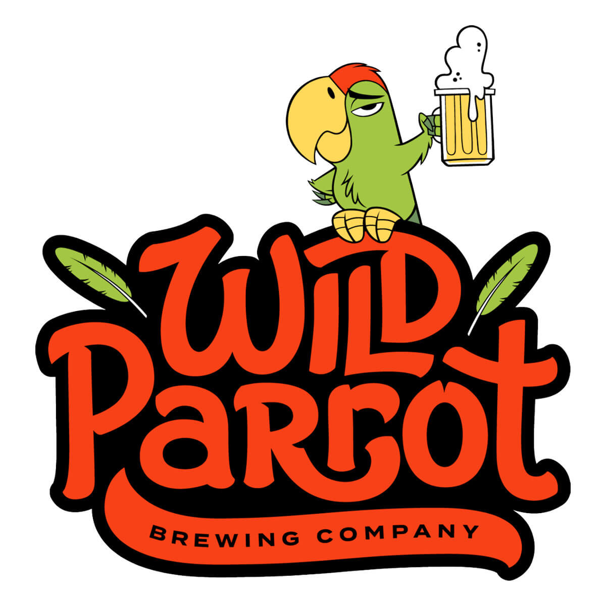 Wild Parrot Brewing Company Logo